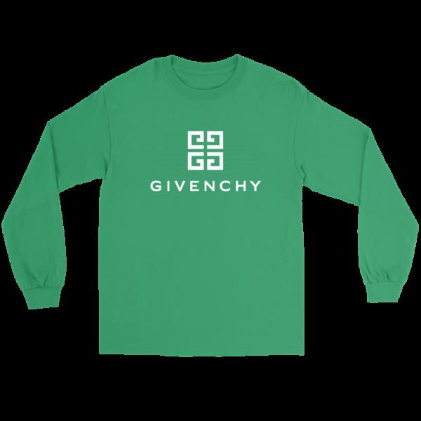 Givenchy Logo Long Sleeve Tee