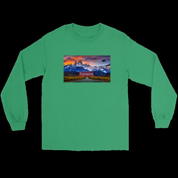 Supreme Patagonia Mountains Long Sleeve Tee