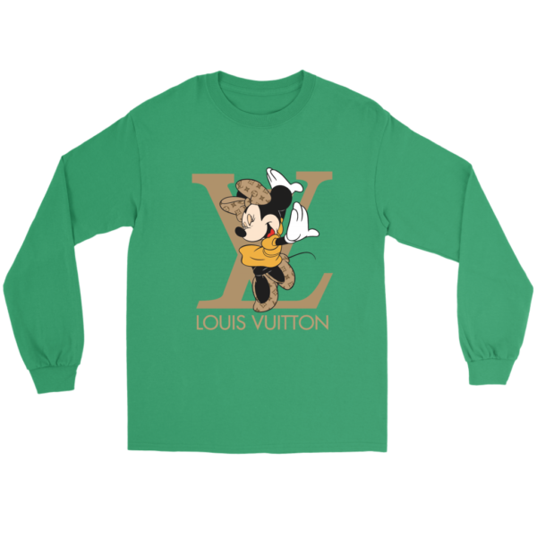 Minnie Mouse Louis Vuitton Edition Long Sleeve Tee