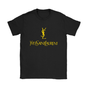 YSL Yves Saint Laurent Logo Womens T-Shirt