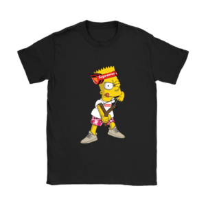 Bart Simpson Gucci Supreme Womens T-Shirt