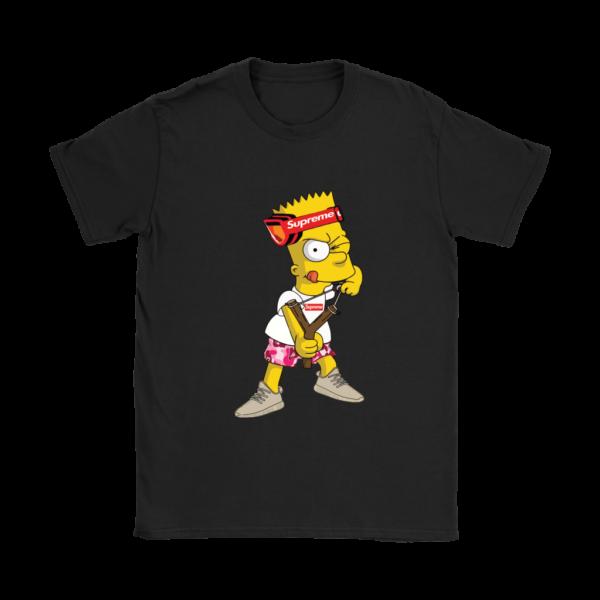 Bart Simpson Gucci Supreme Womens T-Shirt