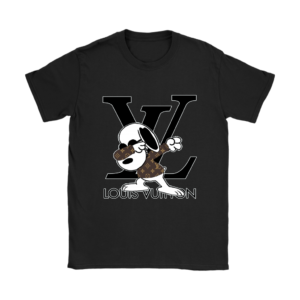 Snoopy Louis Vuitton Logo Womens T-Shirt