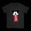 Supreme Mickey Mouse Logo Premium Womens T-Shirt