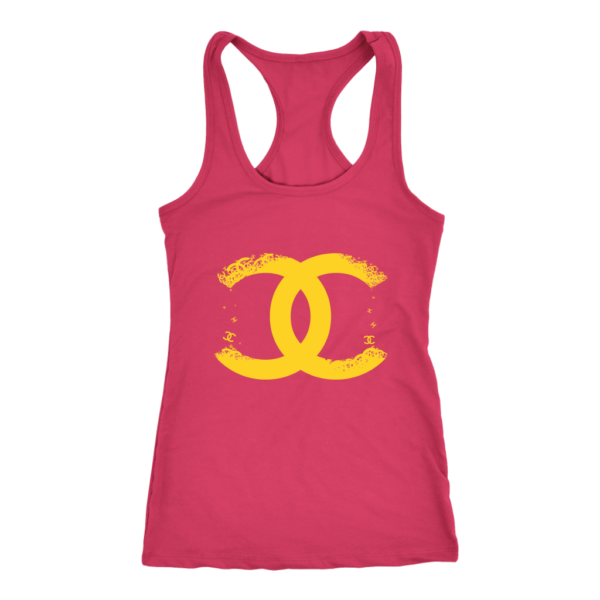CoCo Chanel Logo Premium Women's Tank Top