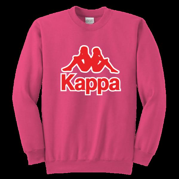 Kappa Logo Youth Crewneck Sweatshirt