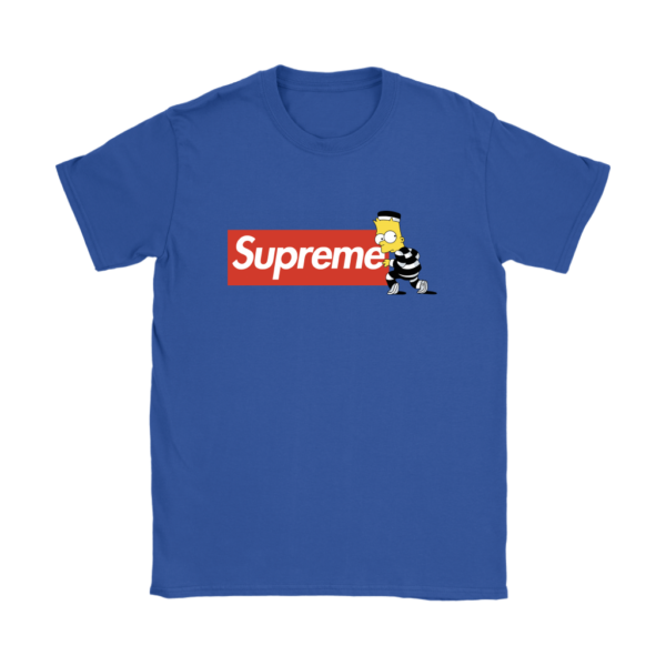 Bart Simpson Supreme Womens T-Shirt