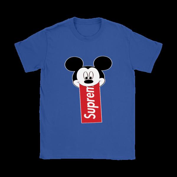 Supreme Mickey Mouse Disney Womens T-Shirt