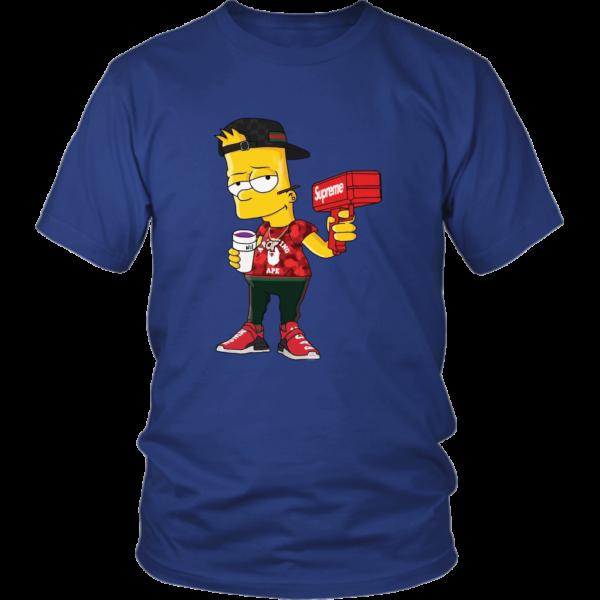 Bart Simpson Gucci Limited Edition Unisex Shirt