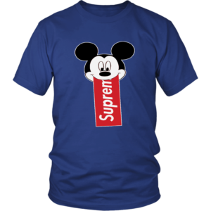 Supreme Mickey Mouse Disney Unisex Shirt