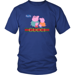 Peppa Pig Gucci Limited Unisex Shirt