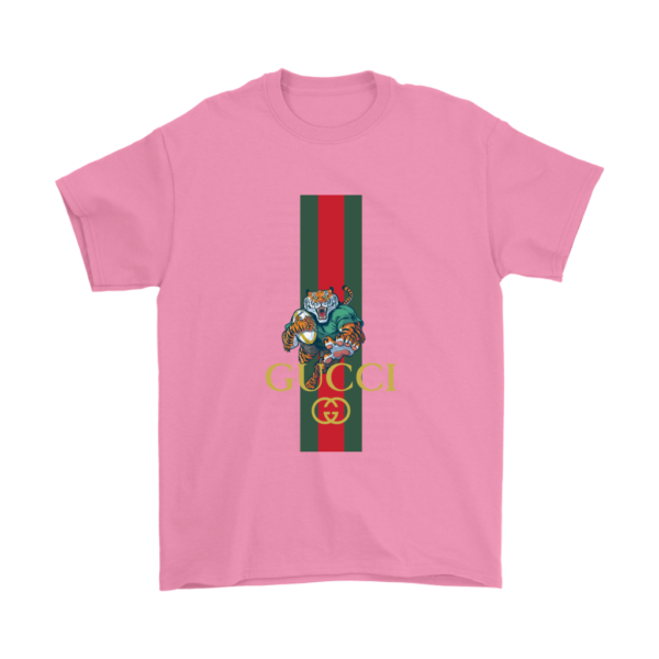 Gucci Tiger Rugby Logo Premium Mens T-Shirt