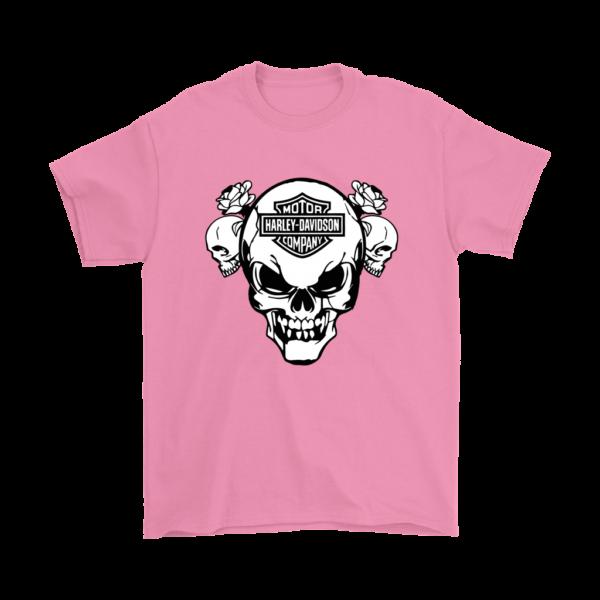 Harley Davidson Skull Mens T-Shirt