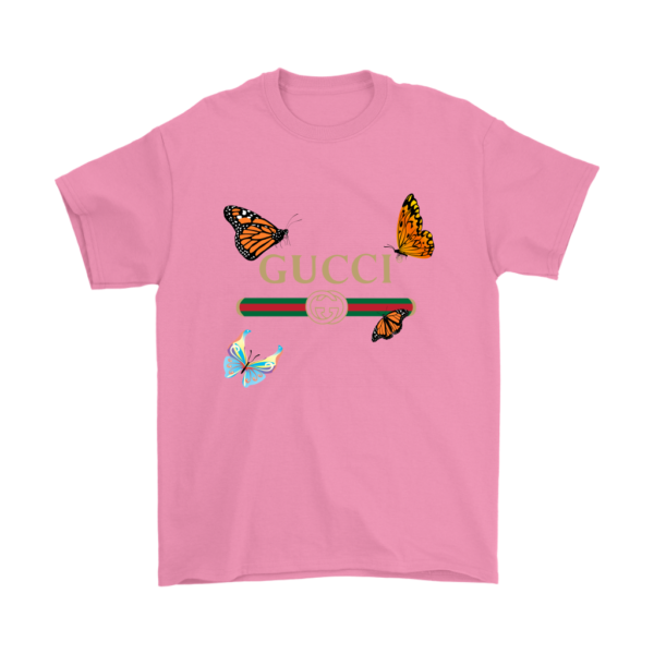 Gucci Butterfly Printed Edition Mens T-Shirt