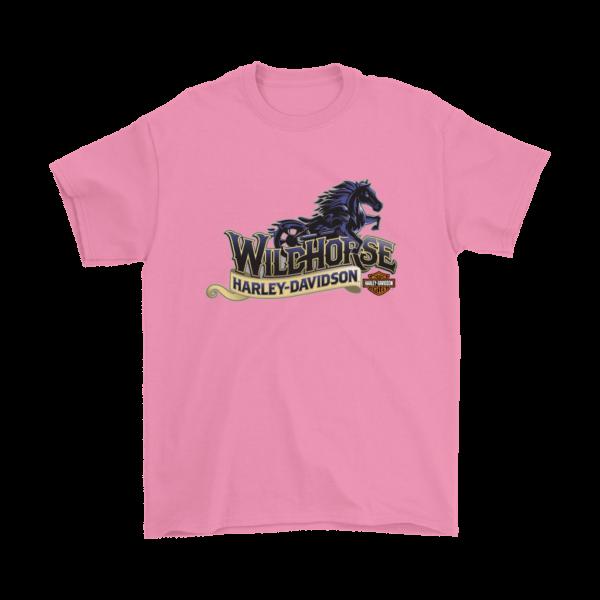 Wildhorse Harley Davidson Logo Mens T-Shirt