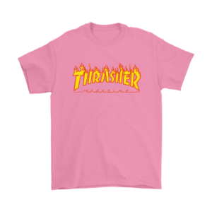Thrasher Flame Logo Mens T-Shirt