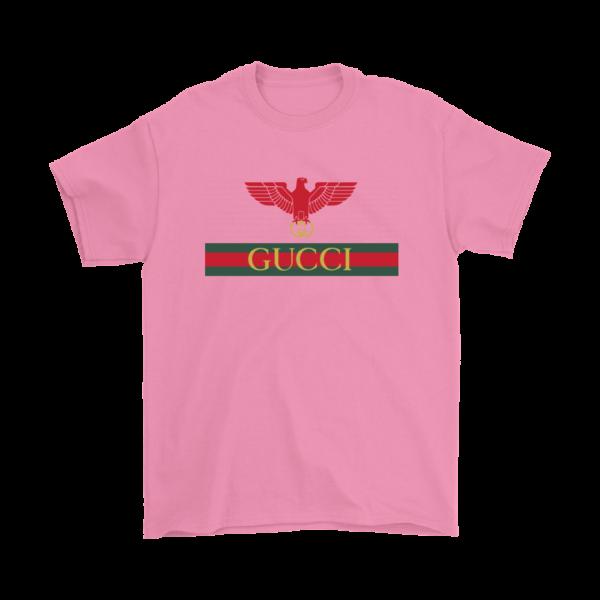 Gucci Red Eagle Bird Mens T-Shirt