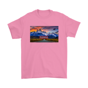 Supreme Patagonia Mountains Mens T-Shirt