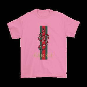 Gucci Snake Logo Mens T-Shirt