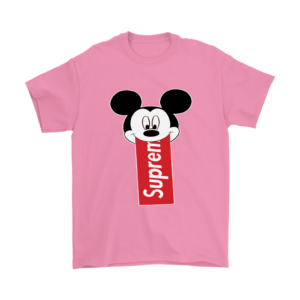 Supreme Mickey Mouse Disney Mens T-Shirt