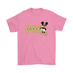 Gucci Mickey Mouse Premium Mens T-Shirt