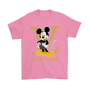 Louis Vuitton Mickey Mouse Mens T-Shirt