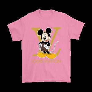 Louis Vuitton Mickey Mouse Mens T-Shirt