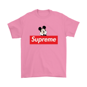 Supreme Mickey Mouse Logo Premium Mens T-Shirt