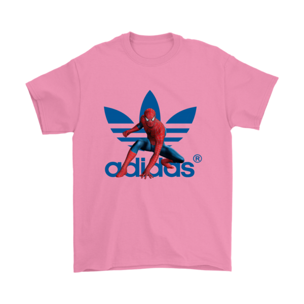 Spiderman Adidas Marvel Logo Mens T-Shirt