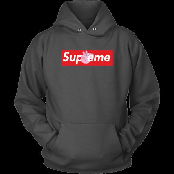 Supreme Peppa Pig Unisex Hoodie