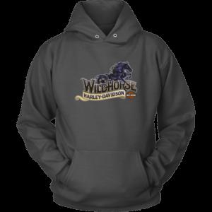 Wildhorse Harley Davidson Logo Unisex Hoodie