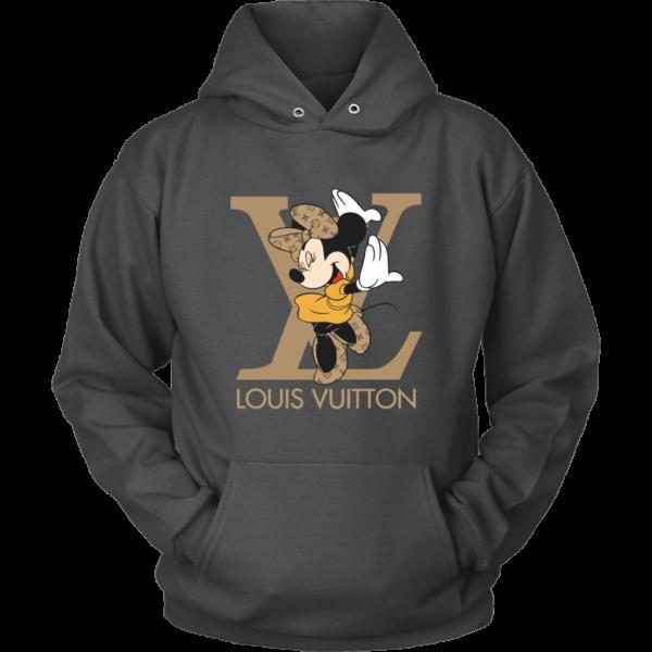 Minnie Mouse Louis Vuitton Edition Unisex Hoodie