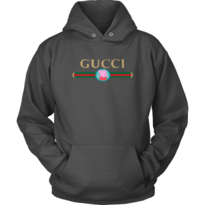 Peppa Pig Gucci Logo Premium Unisex Hoodie