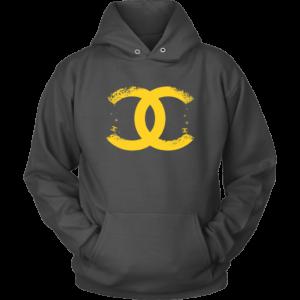 CoCo Chanel Logo Premium Unisex Hoodie