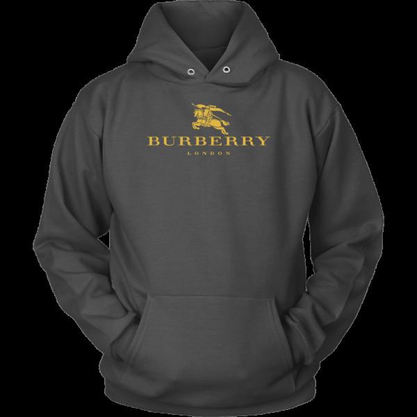 Burberry Gold Edition Logo Unisex Hoodie