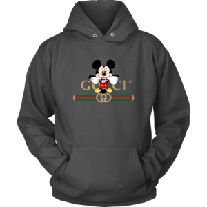 Gucci Logo Mickey Mouse Clubhouse Disney Unisex Hoodie