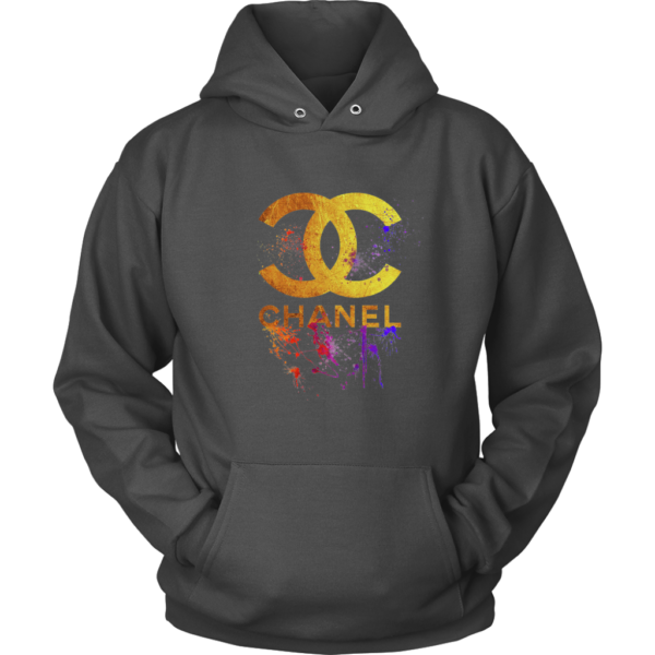 CoCo Chanel Gold Logo Limited Edition Unisex Hoodie