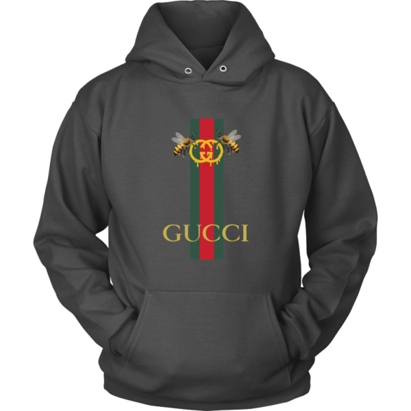 Gucci Bee Logo Drip Unisex Hoodie