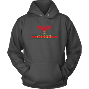 Gucci Red Eagle Bird Unisex Hoodie