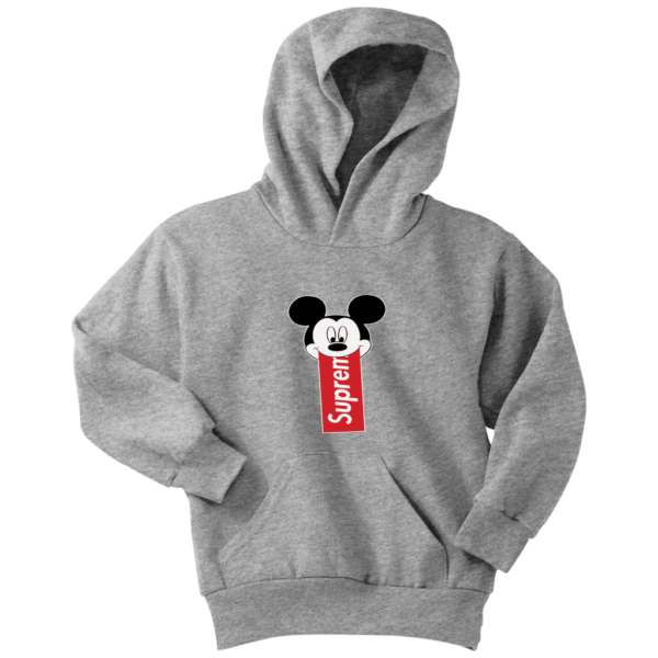 Supreme Mickey Mouse Disney Youth Hoodie