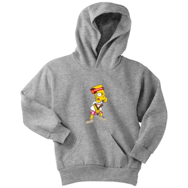 Bart Simpson Gucci Supreme Youth Hoodie