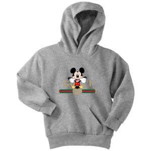Gucci Logo Mickey Mouse Clubhouse Disney Youth Hoodie