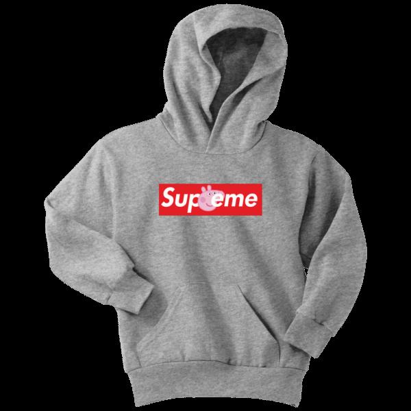 Supreme Peppa Pig Youth Hoodie