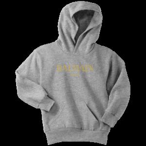Balmain Gold Logo Youth Hoodie
