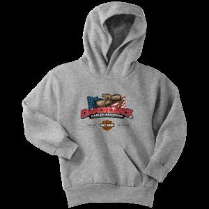 Harley Davidson Logo Premium Youth Hoodie