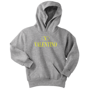 Valentino Logo Gold Premium Edition Youth Hoodie