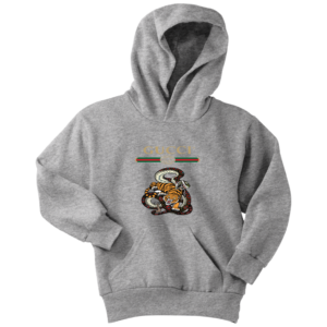 Gucci Logo Edition Tiger Vs Snake Youth Hoodie