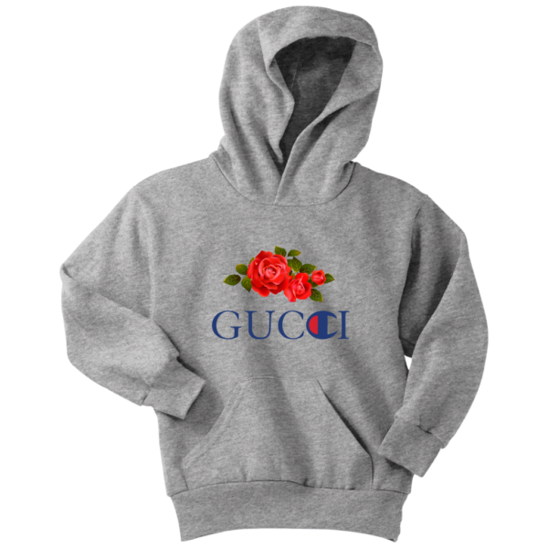 Gucci Champion Rose Youth Hoodie
