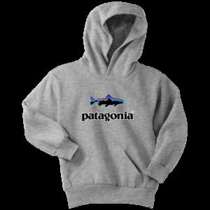 Patagonia Fish Logo Youth Hoodie