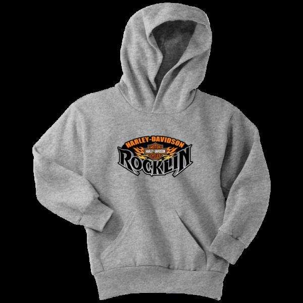 Harley Davidson Of Rocklin Youth Hoodie
